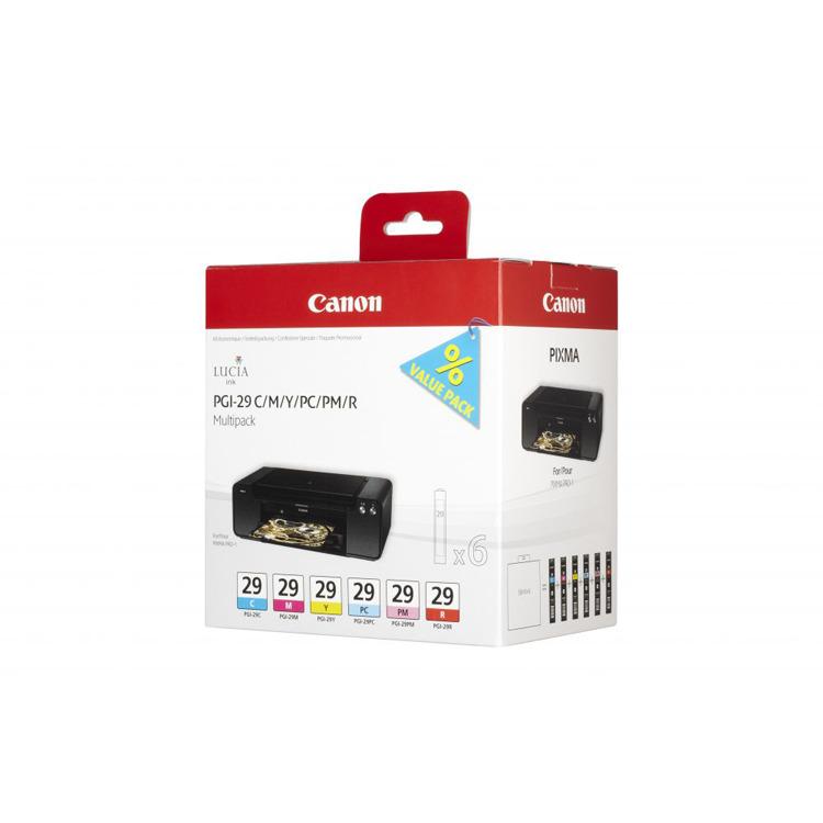 Canon PGI-29C/M/Y/PC/PM/R Multipack