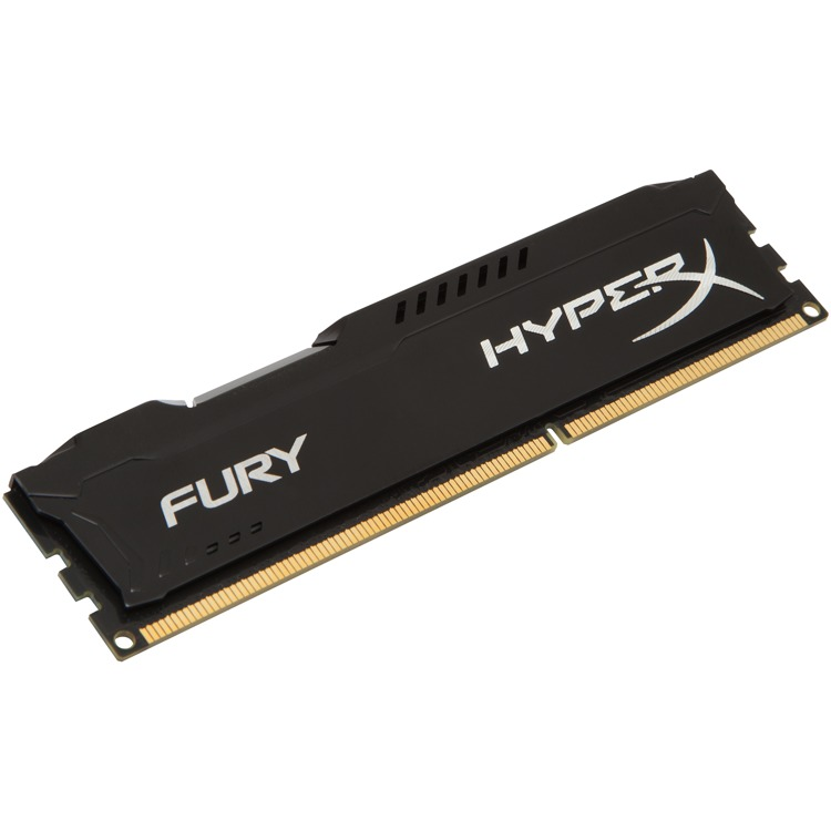 Kingston HyperX FURY 8 GB DIMM DDR3-1333 zwart