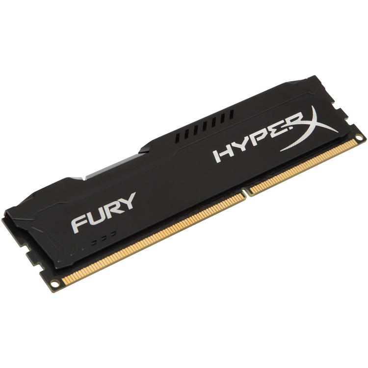 Kingston HyperX FURY 8 GB DIMM DDR3-1333 zwart