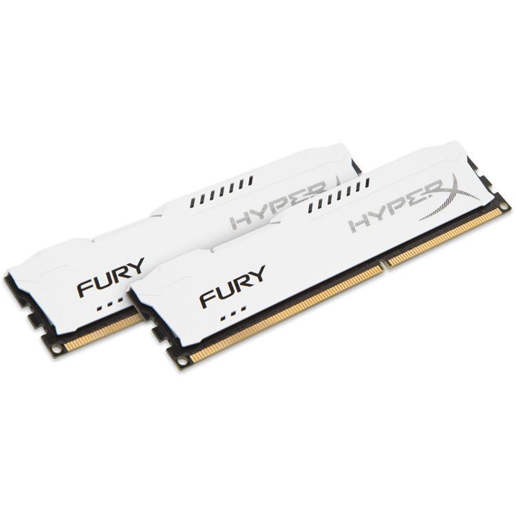 Kingston HyperX Fury 8 GB DIMM DDR3-1333 wit Kit van 2