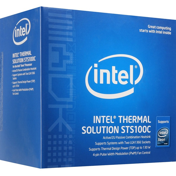 Intel Thermal Solution STS100C - Processor cooler - ( Socket 1366 )
