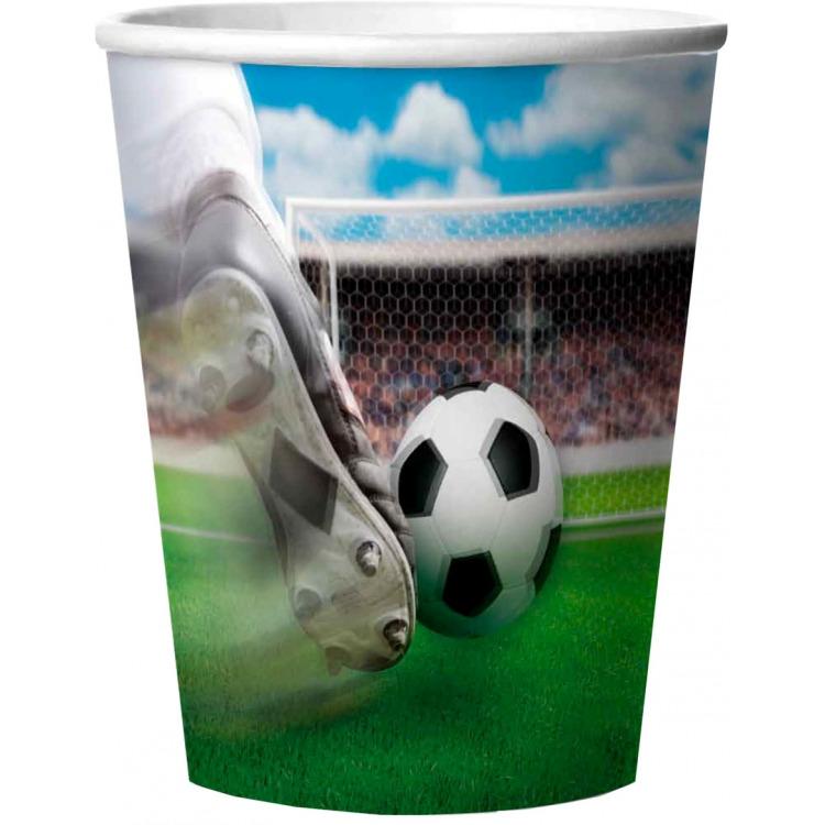 Beker 3D Voetbal 266ml- 4