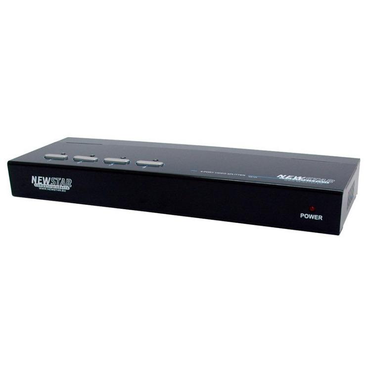 KVM NEWSTAR NS124 4p. Video splitter