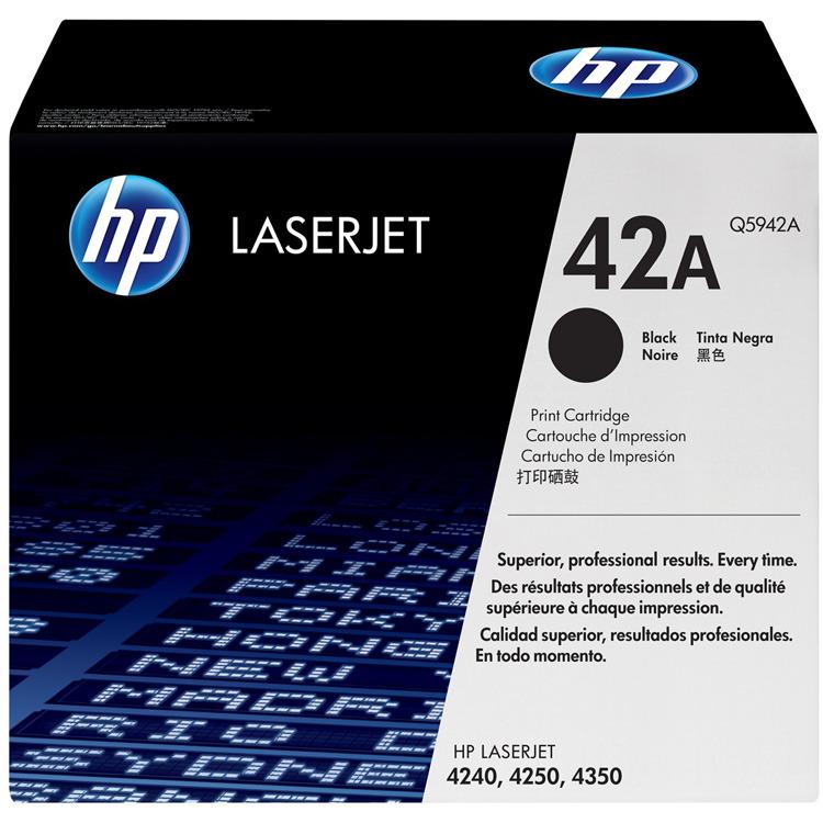HP Tonercassette »HP Q5942A« HP 42A