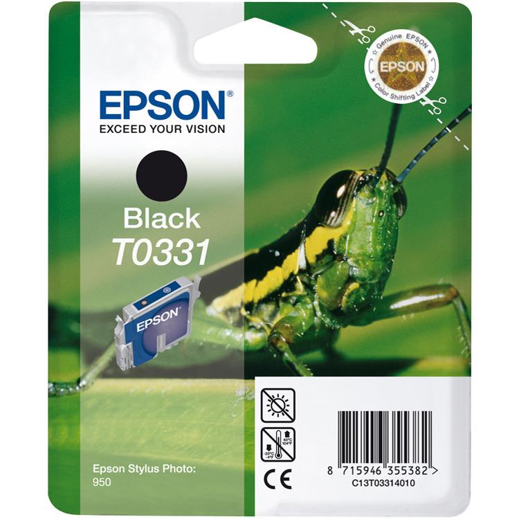 Epson T033 - Inktcartridge / Zwart
