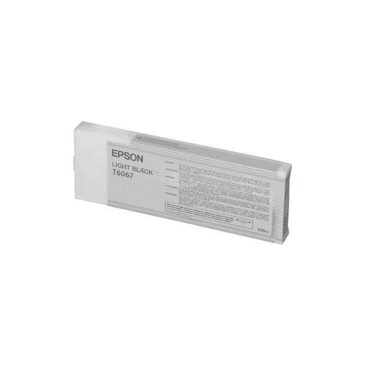 Epson T6069 - Inktcartridge / Licht Zwart