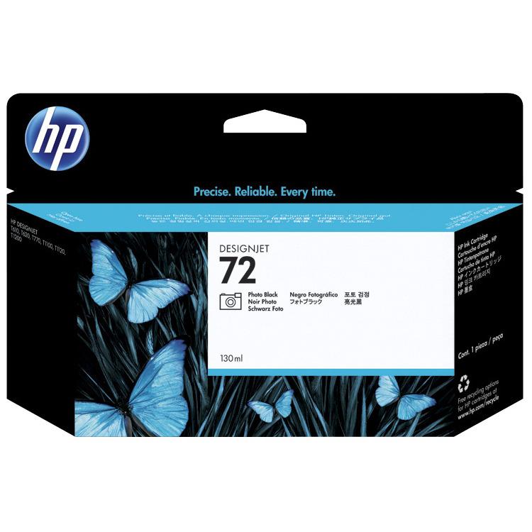 HP 72 - Inktcartridge / Foto Zwart