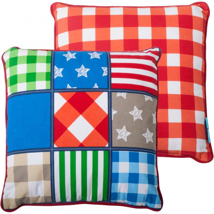 Kussen Lief patchwork: 45x45 cm (100742)