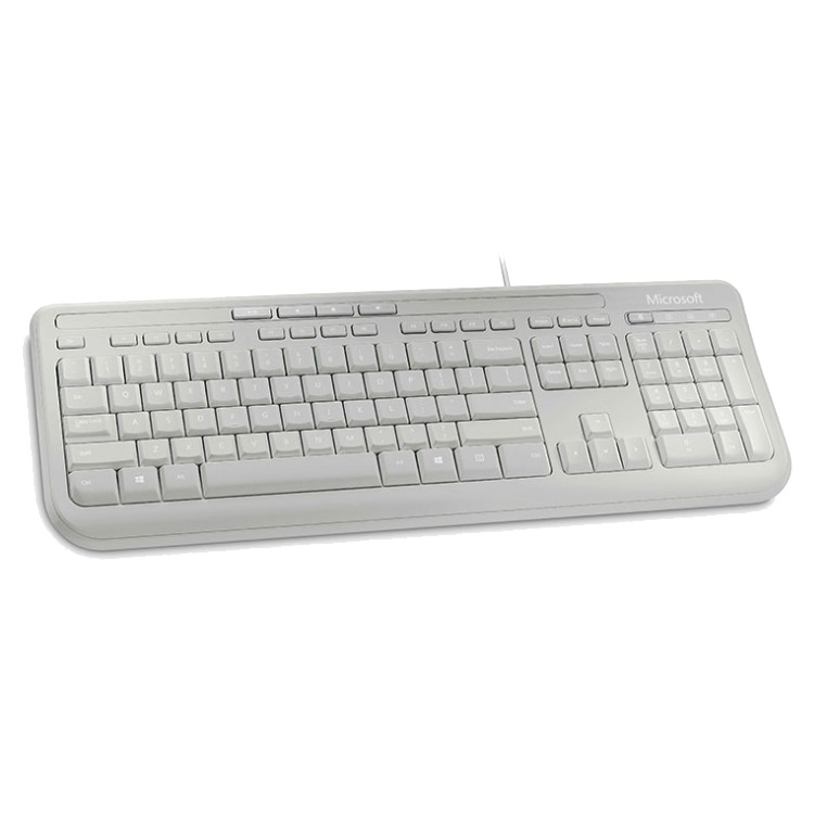 Microsoft MS WIRED KB 600 WHITE-EN
