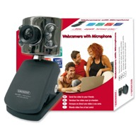Eminent EM1089 - Web camera - audio - USB