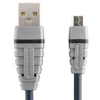 Bandridge BCL4901 USB 2.0 / Micro 2 meter Kabel
