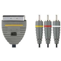 Bandridge BVL5602 2 meter stereo/ video Kabel