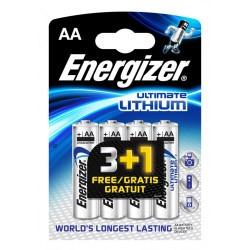 Energizer Enlithiumaa4 so Ultimate Lithium Batterijen Fr3 2-blister