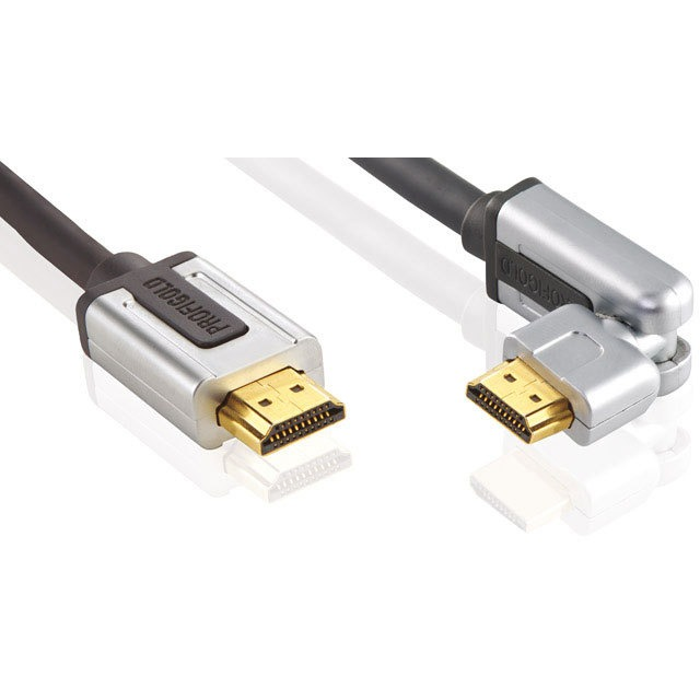 Profigold Roteerbare High Speed HDMI® met Ethernet kabel-1.0 meter