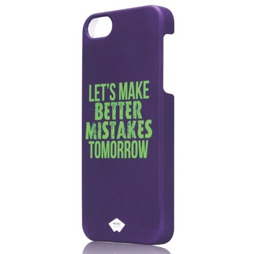 Mosaic Theory Mtia21-003 mis Phone Case Rubberized For Iphone 5s-5 Purple