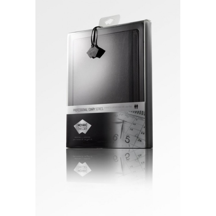 Mosaic Theory Mtpr25-001 blk Tablet Case Pu Leather For Ipad Mini & Ipad Mini Retina Black