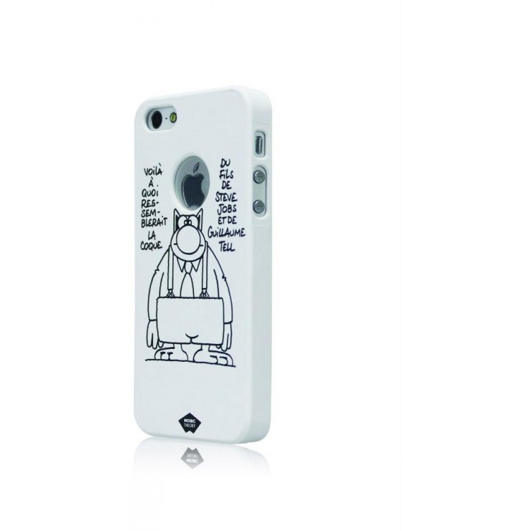 Mosaic Theory Mtld21-001 job Phone Case For Iphone 5s-5 White