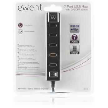 Ewent EW1130 usb 2.0 Hub 7 port