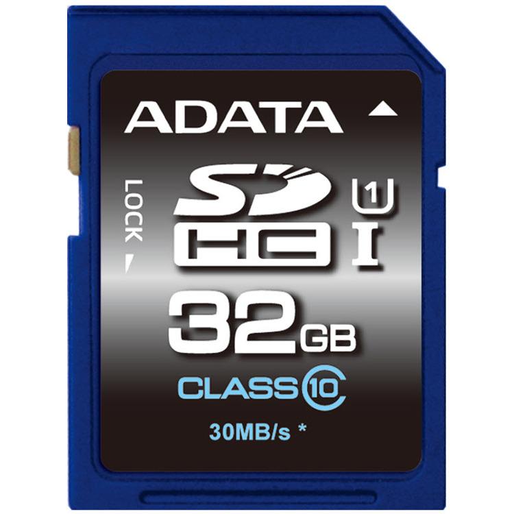 ADATA Premier SDHC UHS-I U1 Class10 32GB