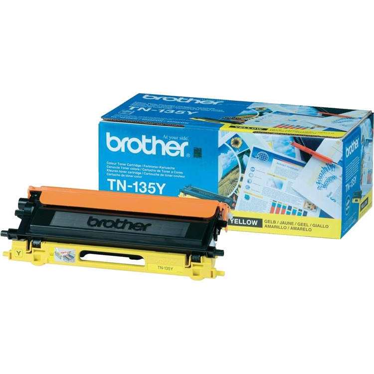 Brother TN-135Y - Tonercartridge / Geel