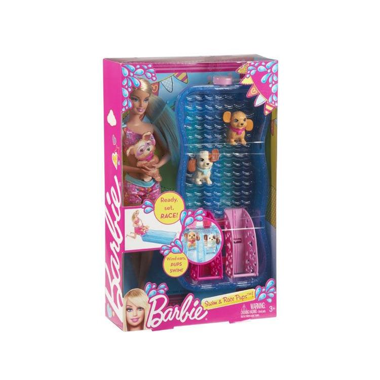 Barbie Puppy Zwemwedstrijd
