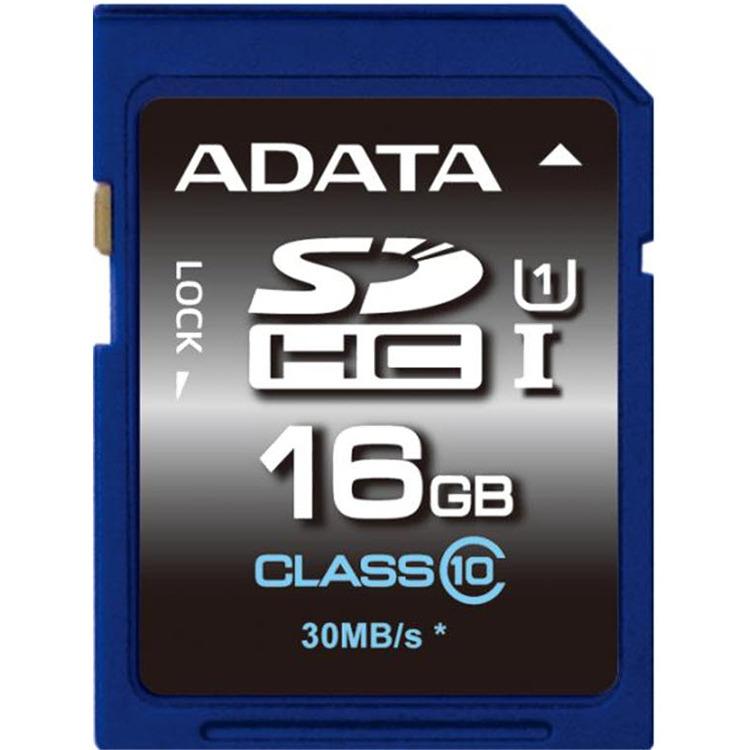 ADATA Premier SDHC UHS-I U1 Class10 16GB