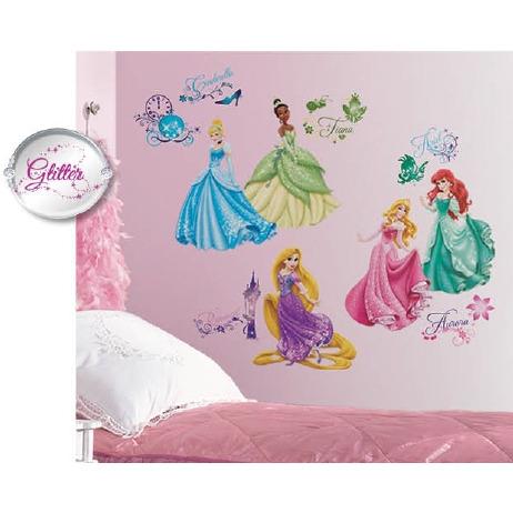 Disney RoomMates Muursticker Princess - Multi
