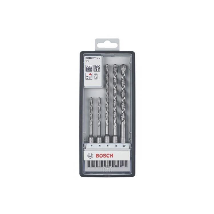 Bosch Robust Line 5-delige Hamerborenset SDS PLUS X5L