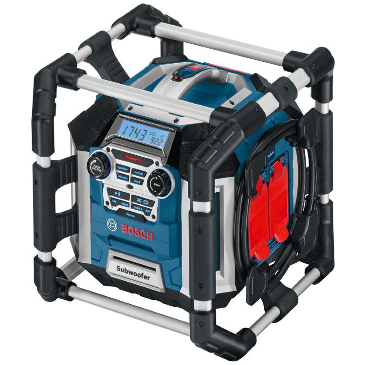 Bosch GML 50 Radio Blauw-Zwart Met Aluminium Beschermframe