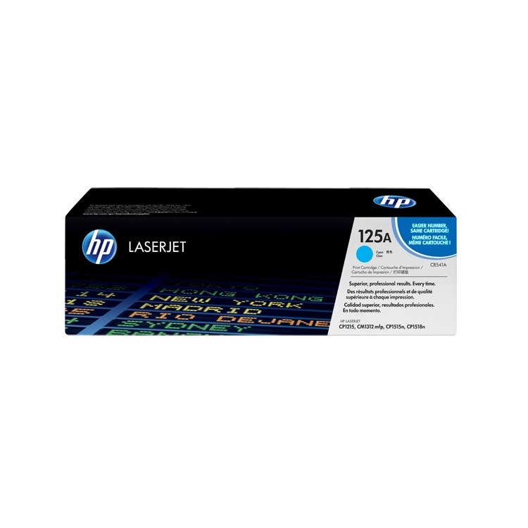HP Inktcartridge »HP CB541A« HP 125A