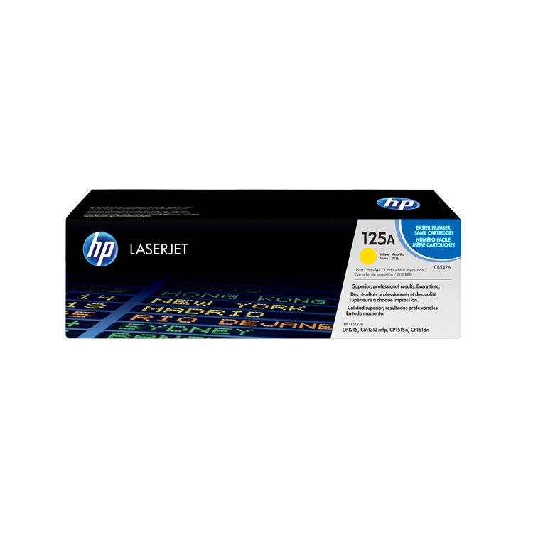 HP Inktcartridge »HP CB542A« HP 125A