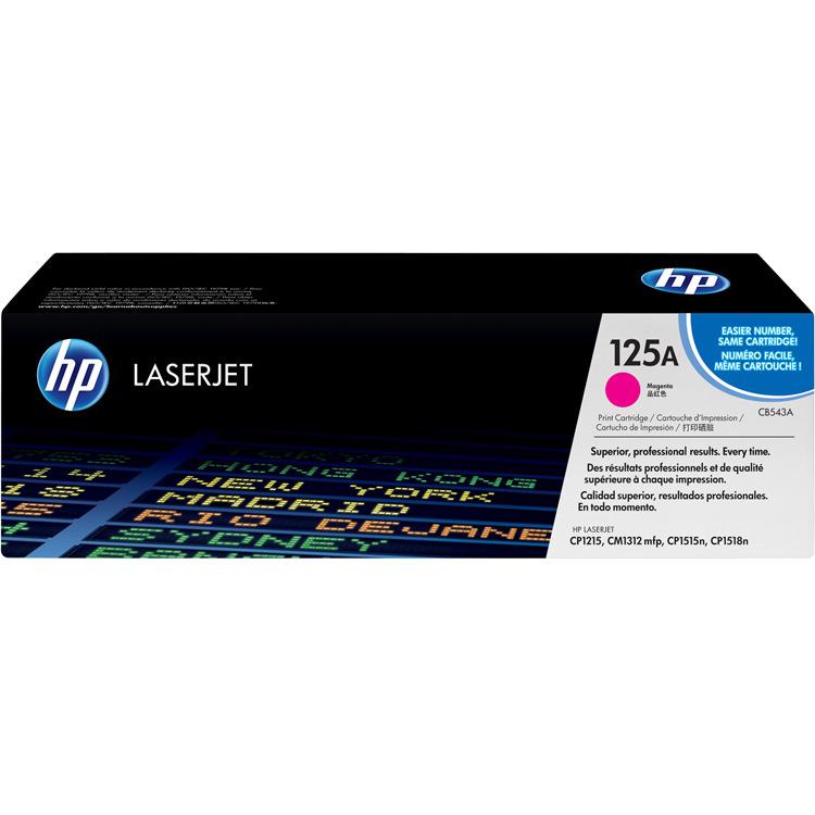 HP Inktcartridge »HP CB543A« HP 125A