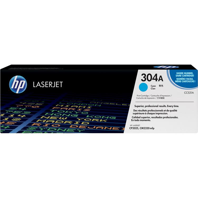 HP Toner »HP CC531A«