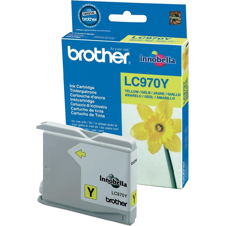 Brother Inktpatroon »LC970Y«