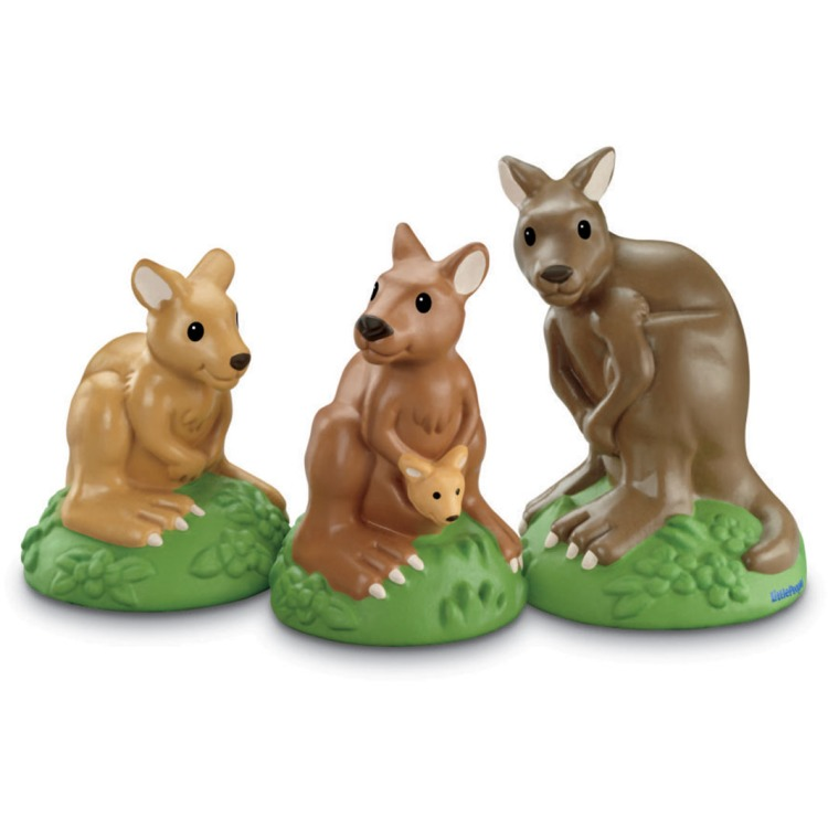 Image of Diertjes Little people: Kangaroo family