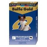 Image of Bolfo Gold Hond Vlooiendruppels - 40 2 Pipet . Voor Honden Van Meer Dan 4 Kg Lichaams