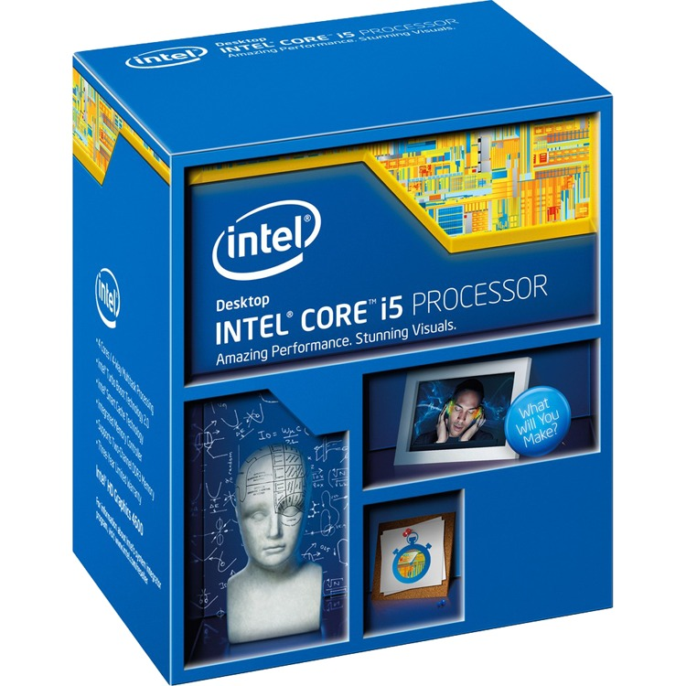 Productafbeelding voor 'Core i5-4690, 3,5 GHz (3,9 GHz Turbo Boost)'