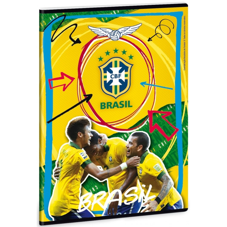 Image of Braz Schrift Brazilie A4 Lijn