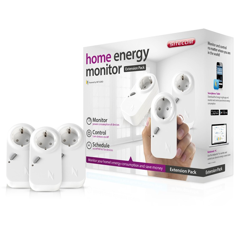 SITECOM Smart Energy 3 plugs - WLE-1100NL