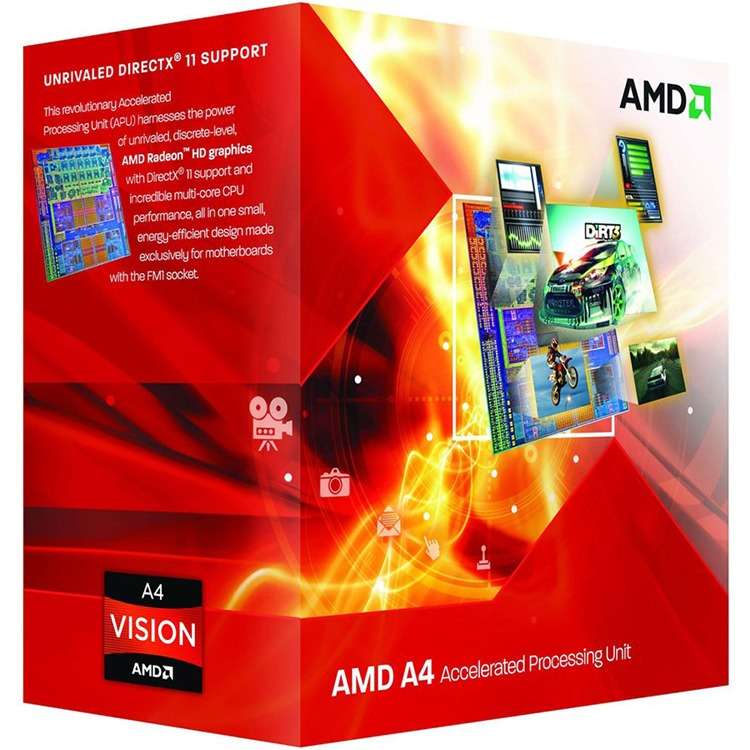 Image of A4-4020 3200 FM2 BOX
