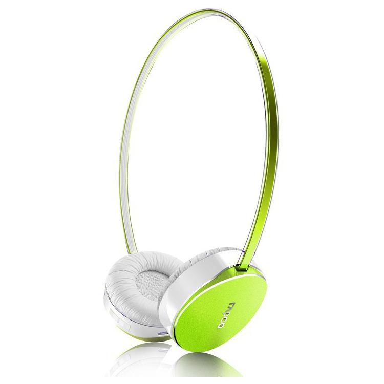 Rapoo S300 - Draadloze on-ear kopetelefoon - Groen