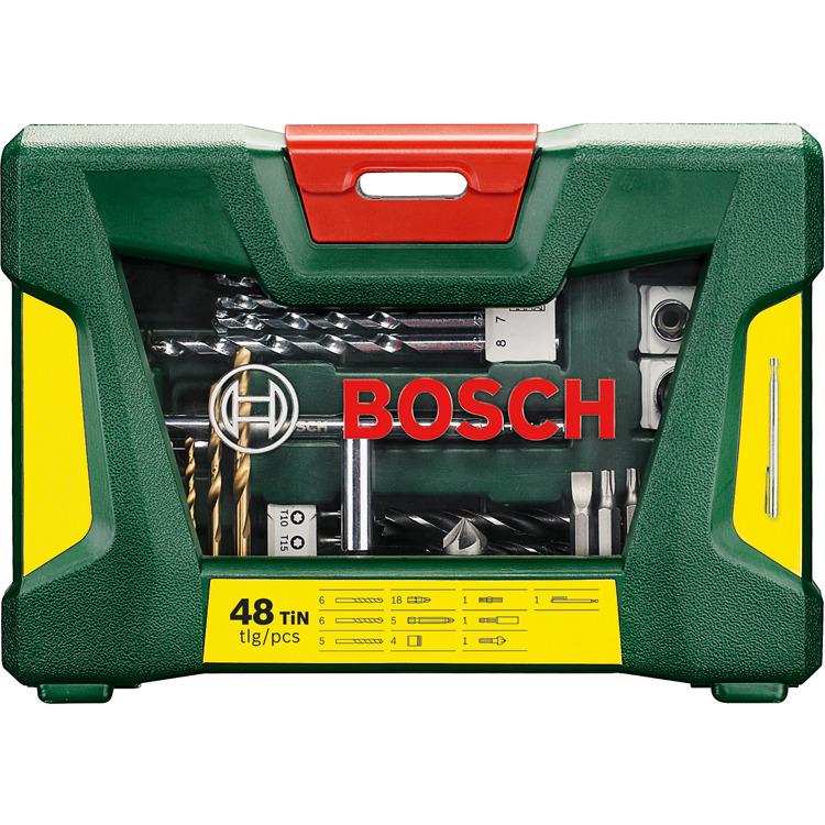 Bosch 48-delige Boren en schroefbitset