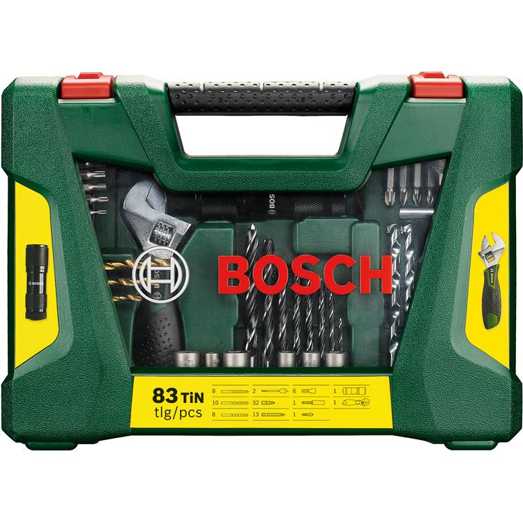 Bosch 83-delige Boren en schroefbitset
