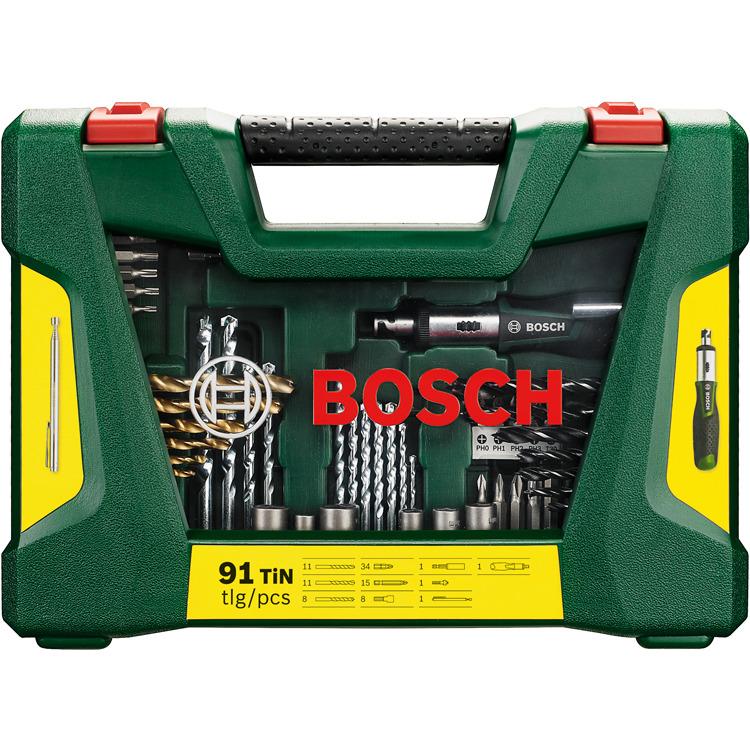 Bosch 91-delige Boren en schroefbitset