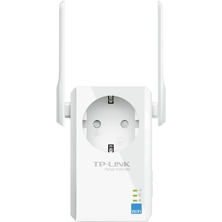 300 Mbps WiFi Range Extender met geïntegreerd stopcontact TL-WA860RE