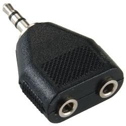 Bandridge BAP424 Hoofdtelefoonsplitter Adapter