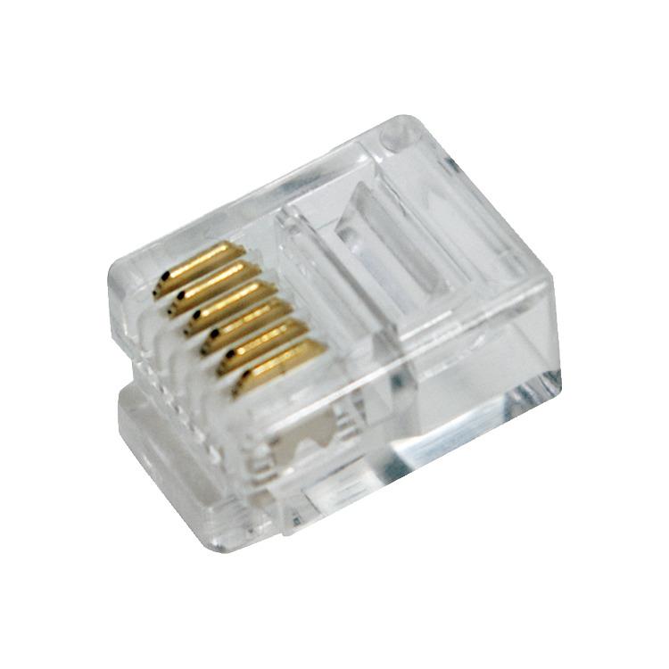 Mp0019 Rj12 Plug Unshd 100pc