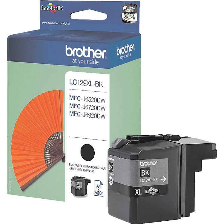 Brother LC 129XL-BK Zwart