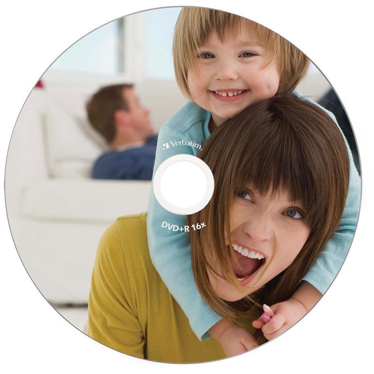 Verbatim 43508 DVD+R Wide Inkjet Printable ID Brand Schijven - 10 Stuks / Jewelcase