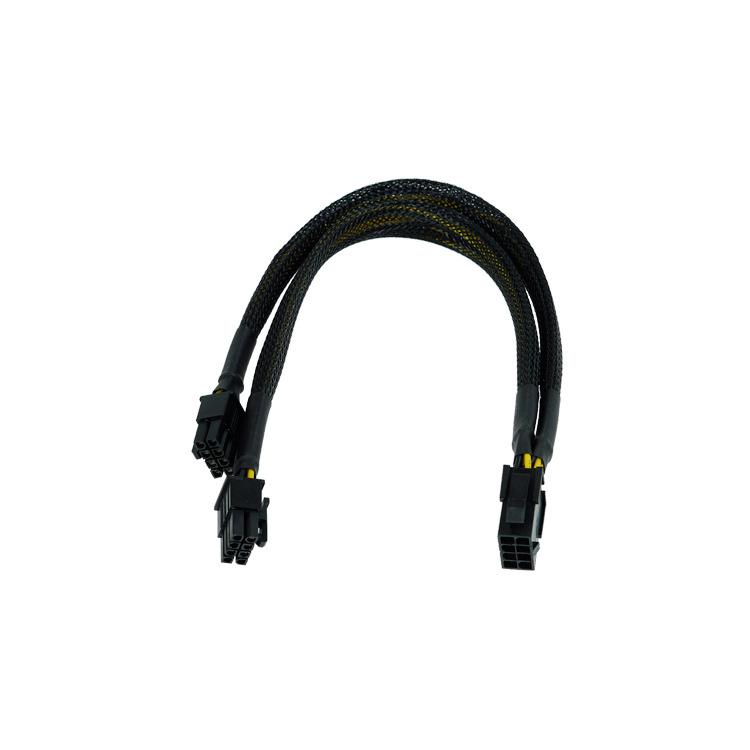 Image of 8-Polig PCIe > 2x 8-Polig PCIe Y-Kabel 30cm